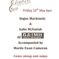 Live Music Promotion, Edinbane Inn, Isle of Skye